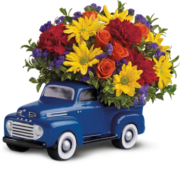 \'48 Ford Pick Up Bouquet