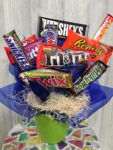 Medium Candy  Bar Bouquet