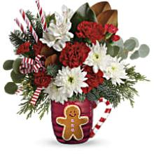 A Gingerbread Greetings Bouquet