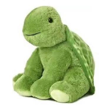 "14"" Plush Green Turtle"