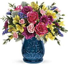 Burst of Blue Bouquet