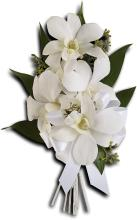 Graceful Orchids Pin On Corsage