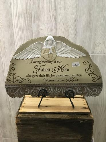 Fallen Hero Plaque