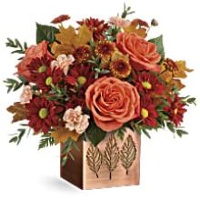 A Copper Petal Bouquet