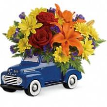 Vintage Ford Pick Up Bouquet